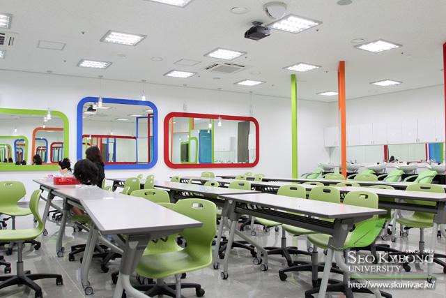 lớp học chuyên ngành làm đẹp đại học seo kyeong