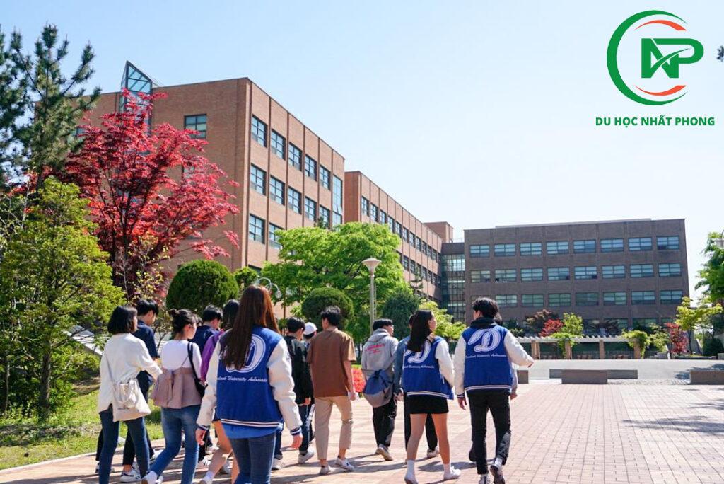 Sinh viên trường đại học Dankook