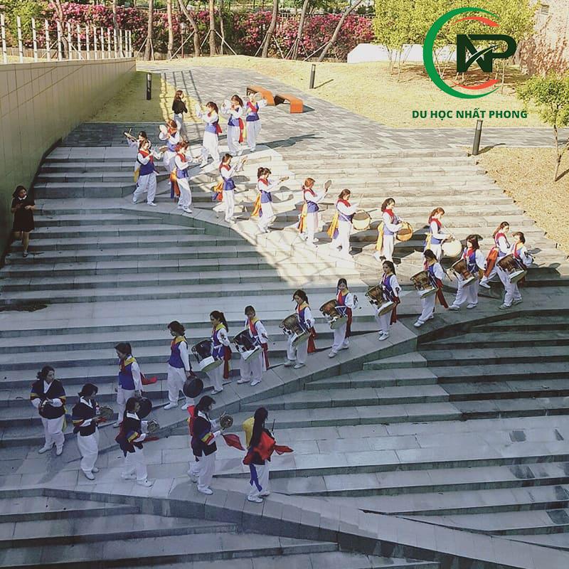 Hoạt động văn hoá đại học nữ Duksung
