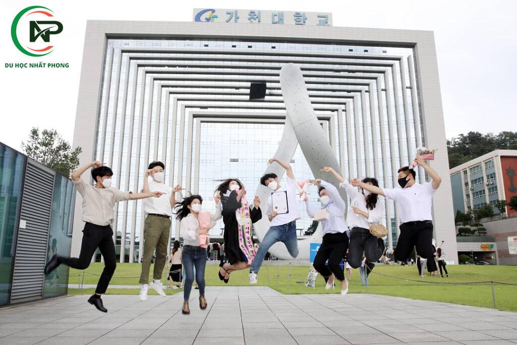 Học viên tại gachon university