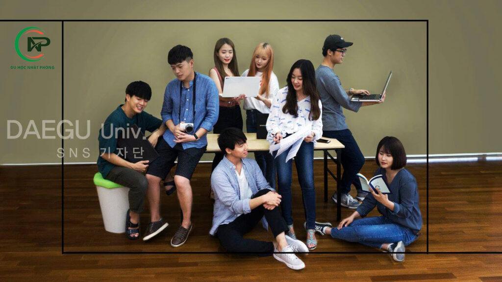 Học tập tại trường đại học Daegu