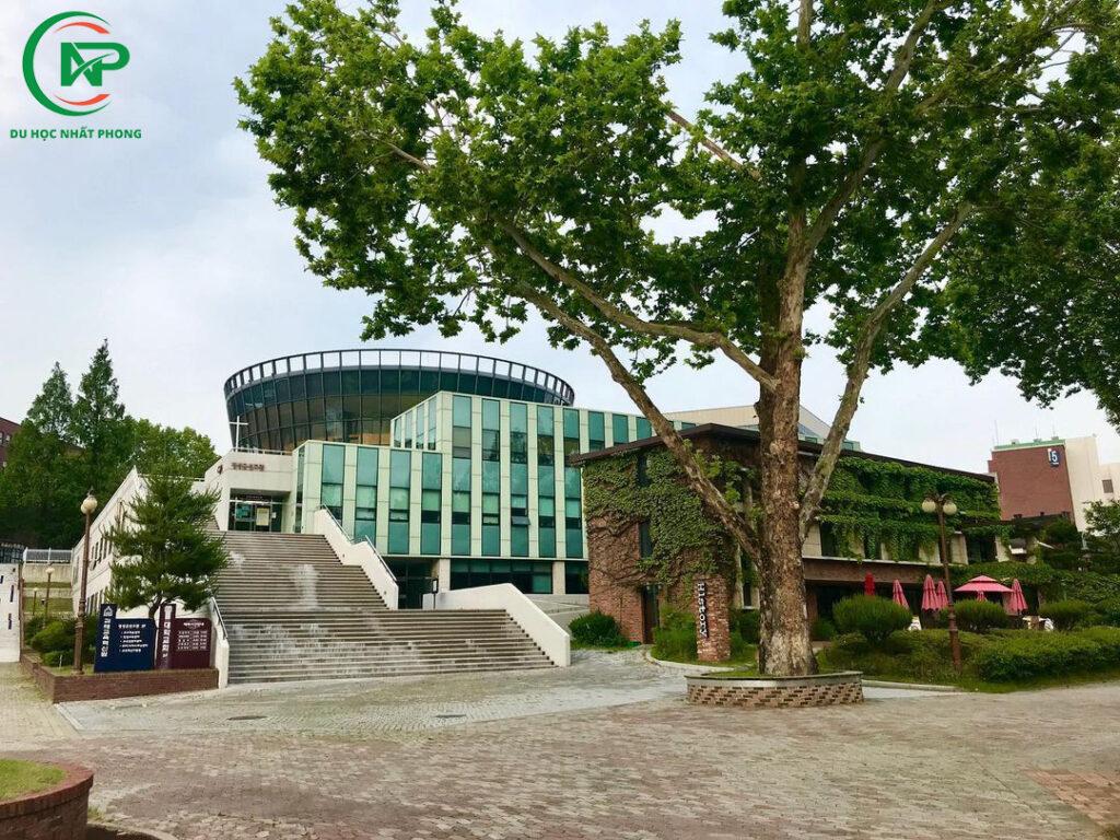 Khuôn viên trường đại học Hannam