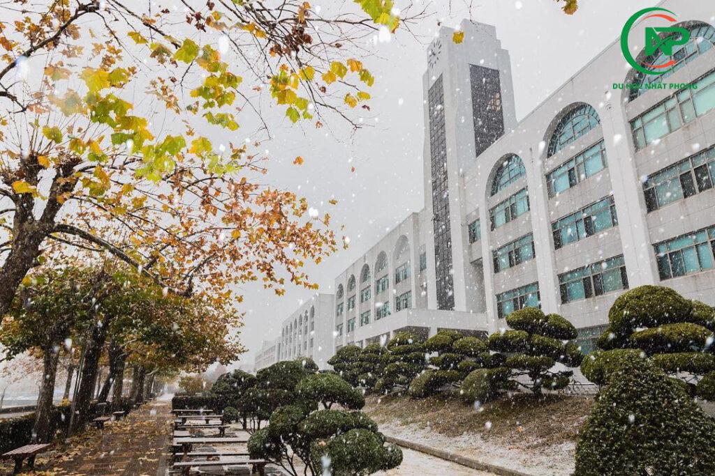 Khuôn viên trường đại học Inha