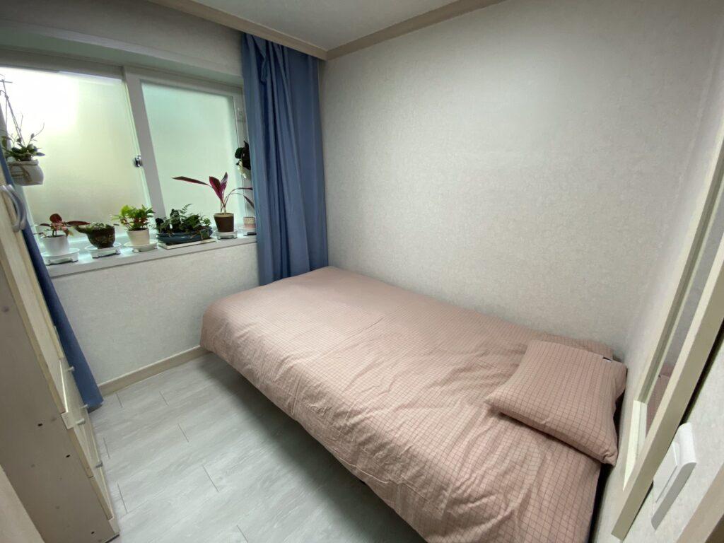 Phòng ký túc xá trường nữ Duksung