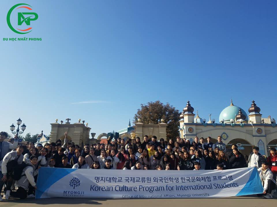 Chương trình trải nghiệm văn hoá đại học Myongji