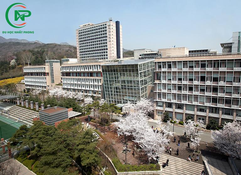Khuôn viên trường đại học Kookmin