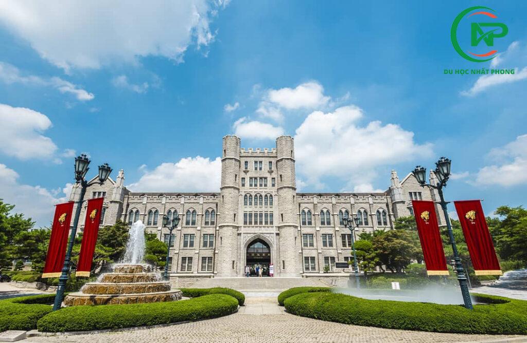 Cổng trường cổ kính đại học Korea