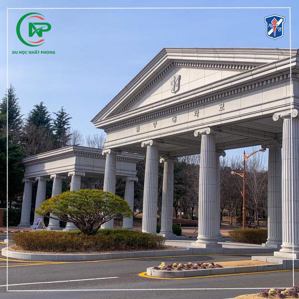 Cổng trường đại học Keimyung