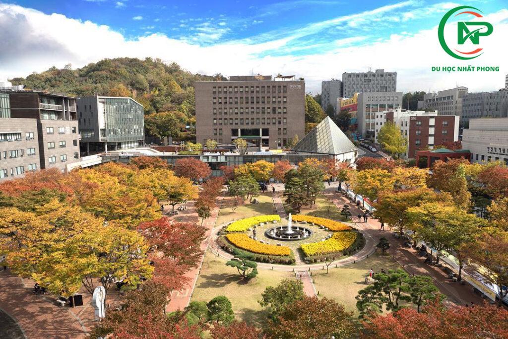 Khuôn viên trường đại học Soongsil