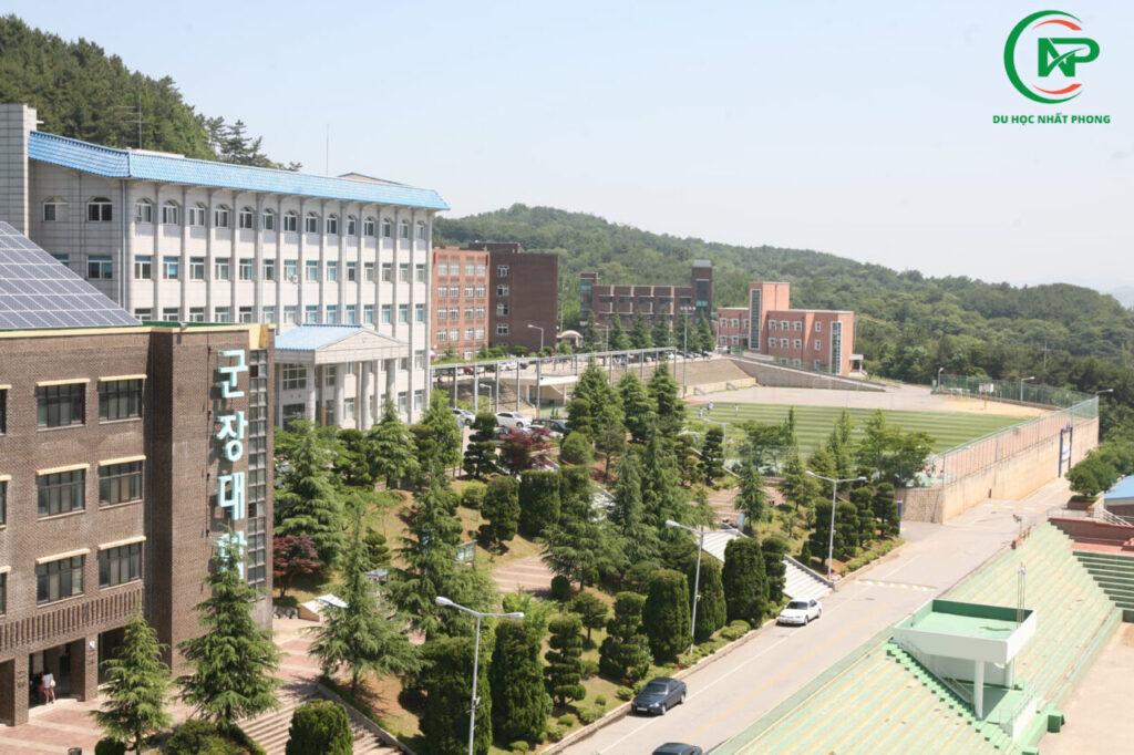 Toan cảnh trườg đại học Kunjang
