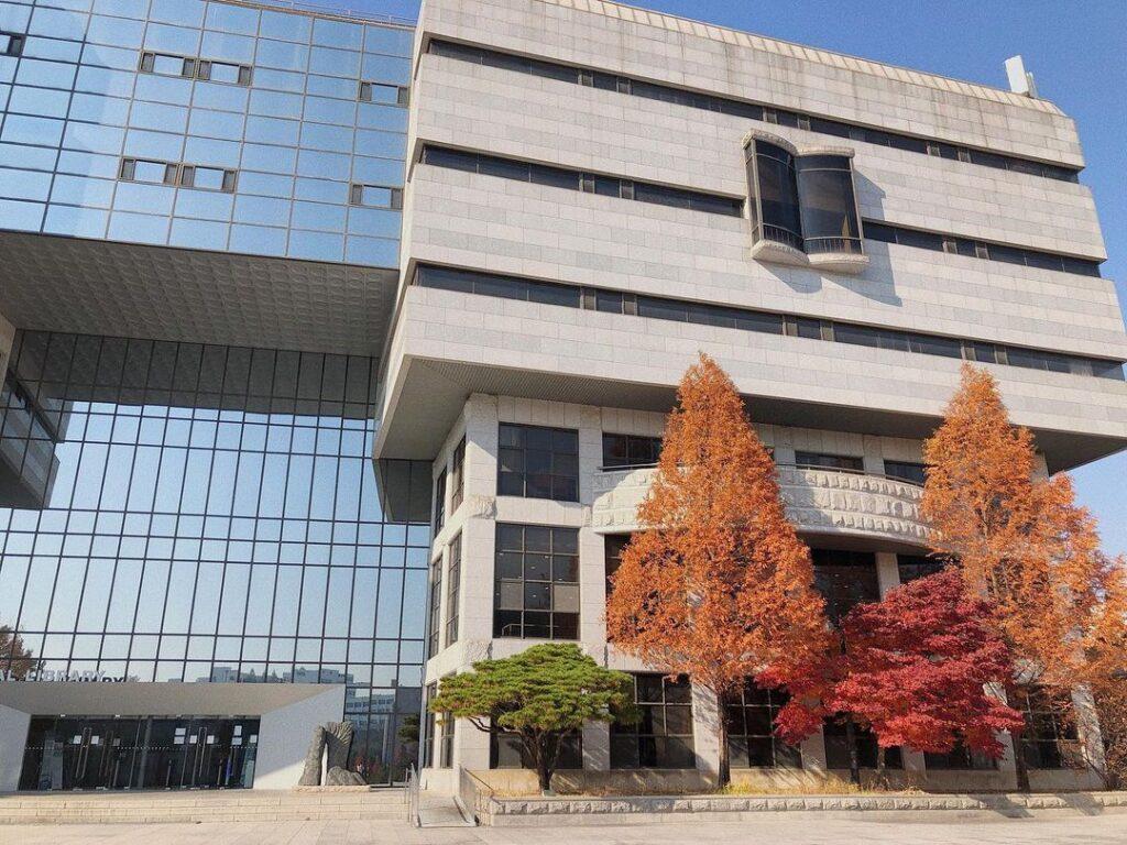 toàn cảnh trường cao đẳng khoa học suwon