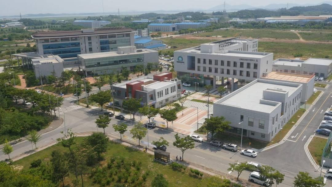 Toàn cảnh trường đại học quốc gia mokpo