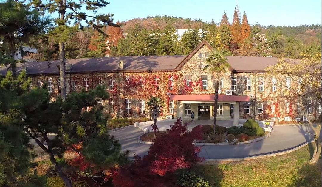 cơ sở vật chất và cảnh quan trường đại học quốc gia mokpo