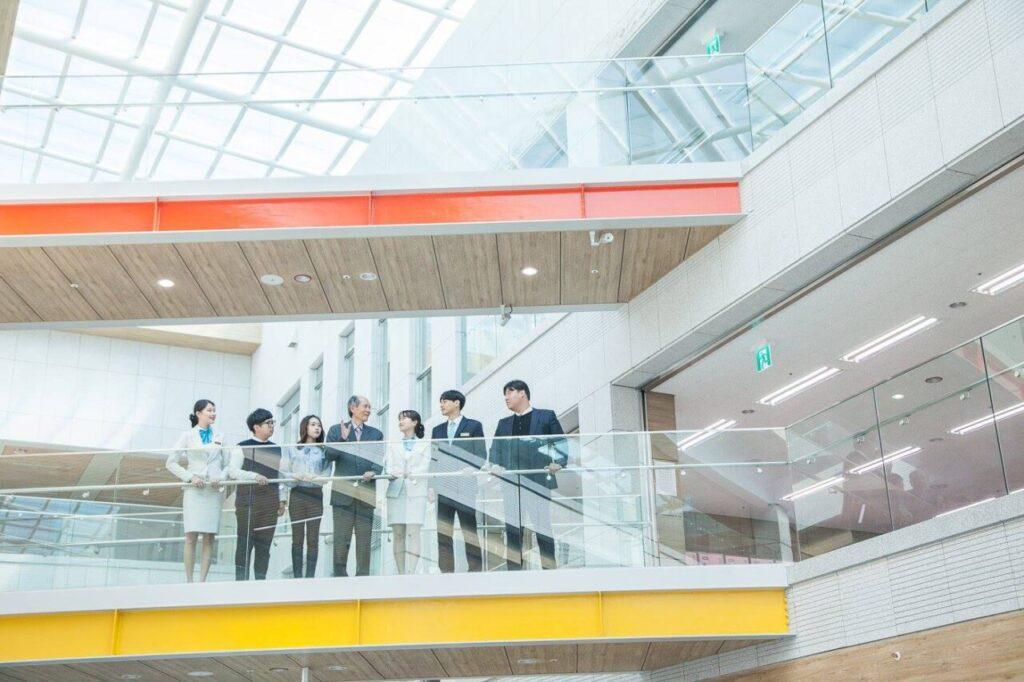 buổi học thực tế sau đại học trường đại học kyungnam