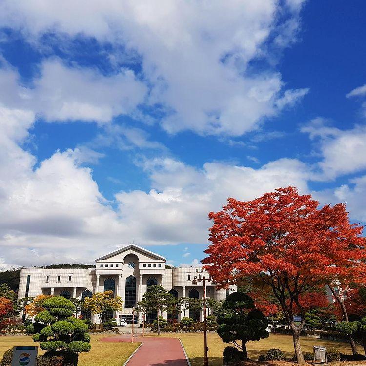 cảnh quan trường đại học shin ansan