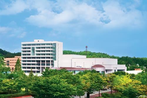 toàn cảnh trường đại học quốc gia gangneung wonju
